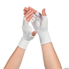White Clapping Gloves