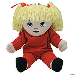 White Girl Doll in Sweat Suit