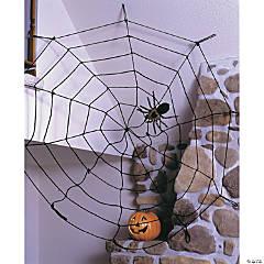 White Spider Web Rope Halloween Decoration