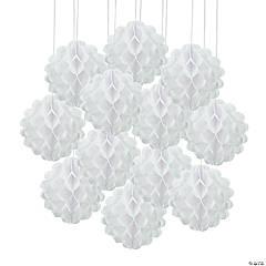 White Tissue Balls