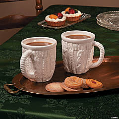 White Winter Mugs