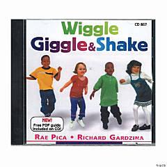 Wiggle, Giggle and Shake CD