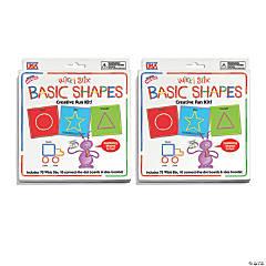 Wikki Stix® Basic Shapes Cards Kit, Pack of 2 Kits
