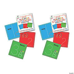 Wikki Stix® Numbers & Counting Cards Set, 2 Sets