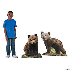 Wild Encounters VBS Bear Cub Stand-Ups
