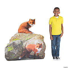 Wild Encounters VBS Fox Cardboard Stand-Up