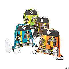 Wild Encounters VBS Medium Drawstring Bags