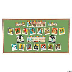 Wild Encounters VBS Mini Bulletin Board Set