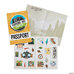Wild Encounters VBS Passport Sticker Books