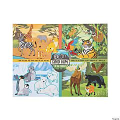 Wild Encounters VBS Sticker Scenes