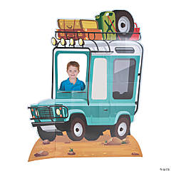 Wild Encounters VBS Truck Photo Stand-Up