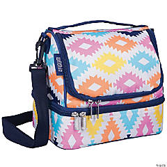 Wildkin Aztec Two Compartment Lunch Bag