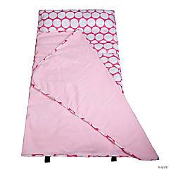 Wildkin Big Dot Pink & White Easy Clean Nap Mat