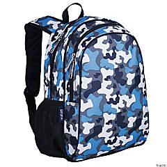 Wildkin Blue Camo 15 Inch Backpack