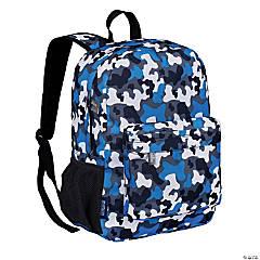 Wildkin Blue Camo 16 Inch Backpack