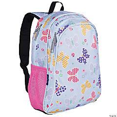 Wildkin Butterfly Garden Blue 15 Inch Backpack