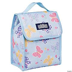 Wildkin Butterfly Garden Blue Lunch Bag