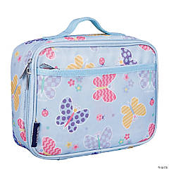 Wildkin Butterfly Garden Blue Lunch Box