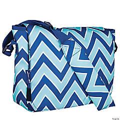 Wildkin Chevron Blue 13 Inch x 10 Inch Messenger Bag