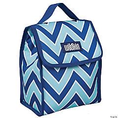 Wildkin Chevron Blue Lunch Bag