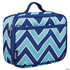 Wildkin Chevron Blue Lunch Box