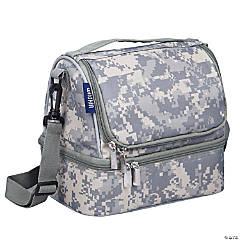 Wildkin Digital Camo Two Compartment Lunch Bag