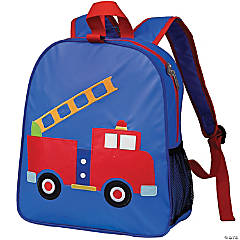 Wildkin Fire Truck Embroidered Backpack