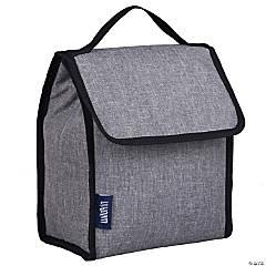 Wildkin Gray Tweed Lunch Bag