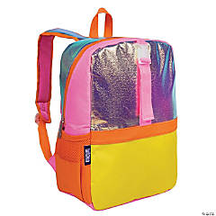 Wildkin Orange Shimmer Pack-it-all Backpack