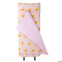 Wildkin Pink and Gold Stars Original Nap Mat