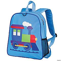 Wildkin Train Embroidered Backpack