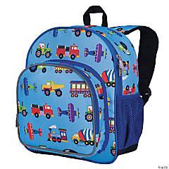 Wildkin Trains, Planes & Trucks 12 Inch Backpack
