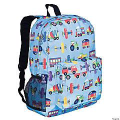 Wildkin Trains, Planes & Trucks 16 Inch Backpack
