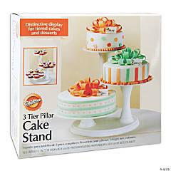 Wilton 3-Tier Pillar Cake Stand