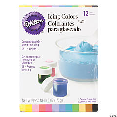 Wilton Icing Colors - 12/Pkg