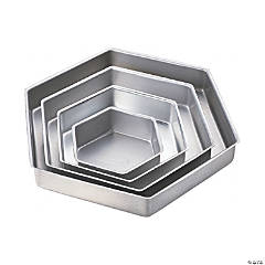Wilton Performance Hexagon Cake Pans - 4/Pkg
