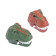Wind-Up Chattering T-Rex Heads