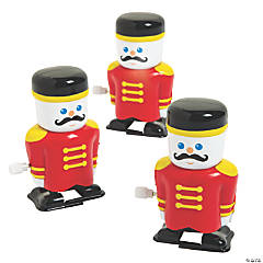 Wind-Up Christmas Toy Soldiers