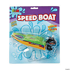 Wind-Up Speed Boats
