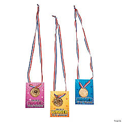 Winner Medal Valentine's Day Cards