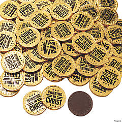 Winning in Christ Gold Chocolate Coins