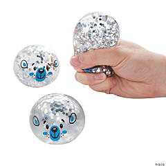 Winter Animal Glitter Water Splat Balls