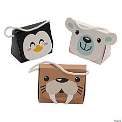 Winter Animals Favor Boxes
