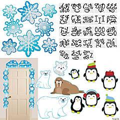 Winter Classroom Decorating Kit