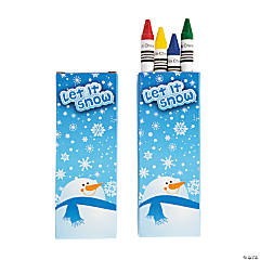 Winter Crayons