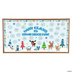 Winter Critter Bulletin Board Set