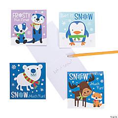 Winter Critter Notepads