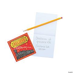 Winter Express Notepads