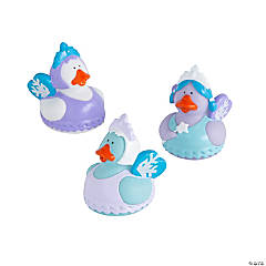 Winter Fairy Rubber Duckies