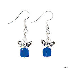 Winter Gift Crystal Earrings Craft Kit